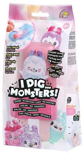 Figurka ukryta w lodach -I dig Monsters