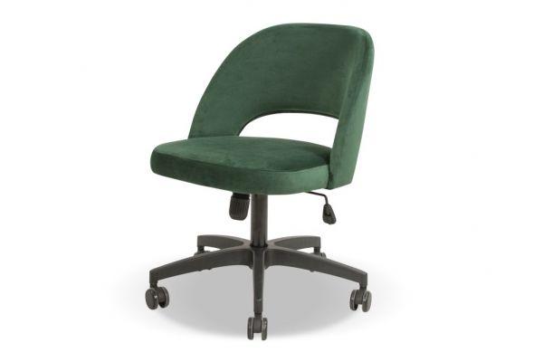 Wygodne krzesło biurowe tapicerowane