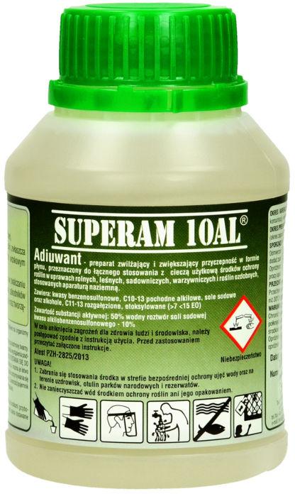 Mgła, Utrwalacz oprysku, adiuwant Superam 10A 250ml.