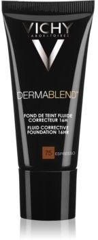 Vichy Dermablend podkład korygujący z filtrem UV odcień 75 Espresso 30 ml