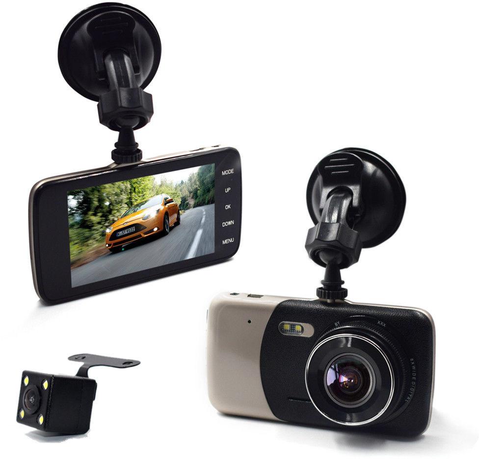 Kamera samochodowa wideorejestrator jazdy + kamera cofania