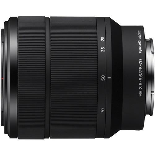 Sony FE 28-70mm F3.5-5.6 OSS - obiektyw zmiennoogniskowy, SEL2870