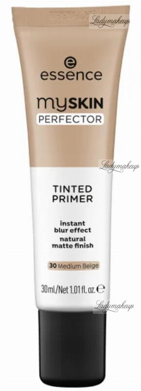Essence - MY SKIN PERFECTOR - Tinted Primer - Baza pod makijaż - 30 ml - 030 - MEDIUM BEIGE