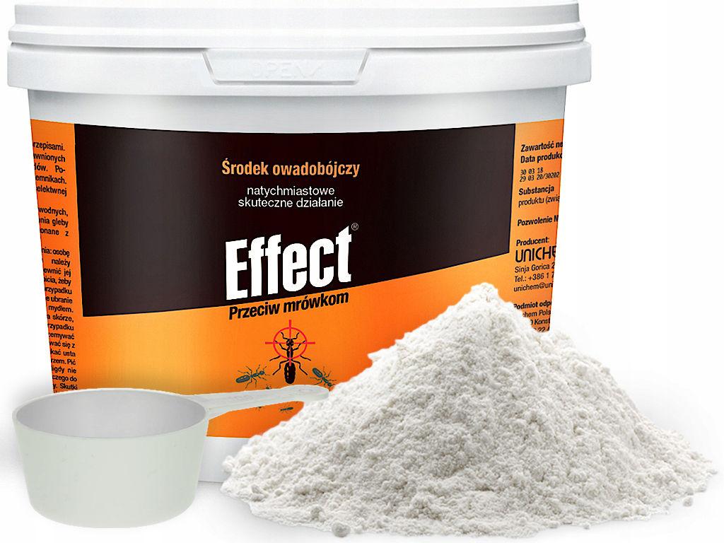 0,5kg Proszek na mrówki preparat, środek Effect.