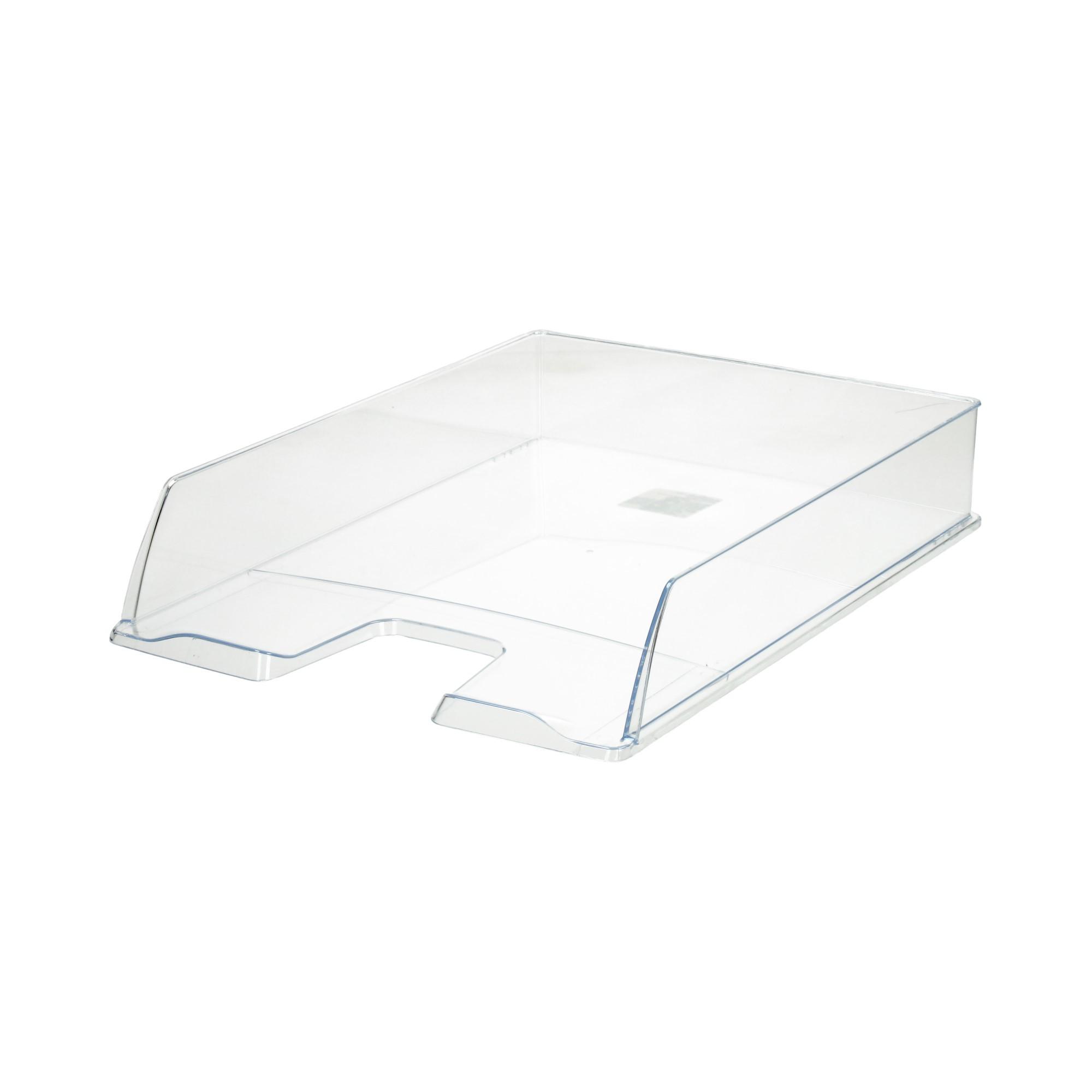 Półka dokumenty A4 przezroczysta Eco