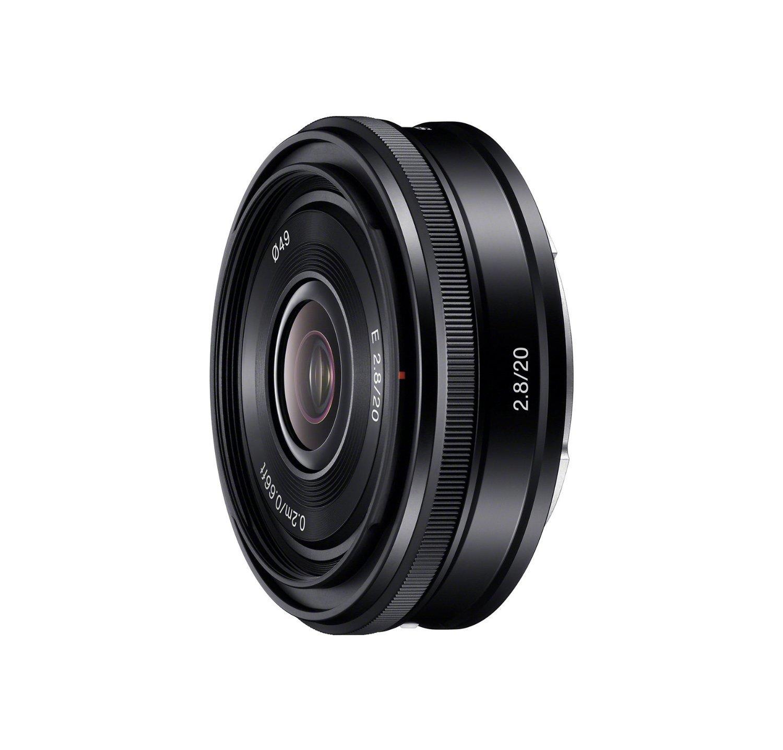 Sony E 20mm F2.8 - obiektyw stałoogniskowy, SEL20F28 Sony SEL20F28