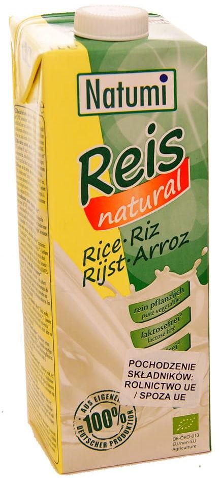 Napój ryżowy naturalny bez cukru BIO - Natumi - 1000ml