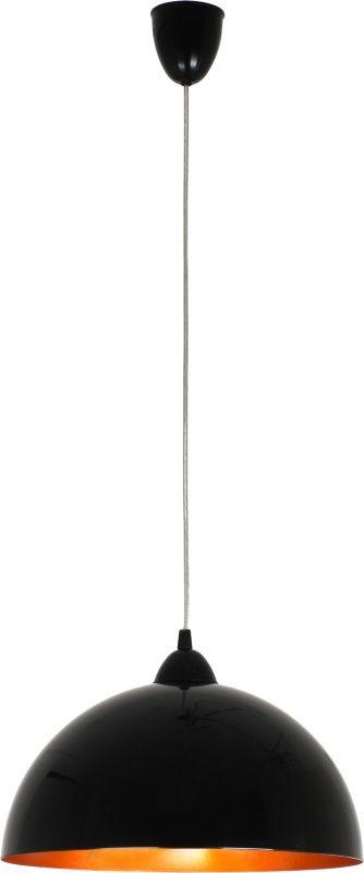 Lampa wisząca Hemisphere S 4840 Nowodvorski Lighting czarno-złota oprawa w nowoczesnym stylu