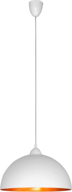 Lampa wisząca Hemisphere S 4893 Nowodvorski Lighting biało-złota oprawa w nowoczesnym stylu
