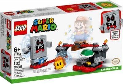 LEGO Super Mario 71364 Tarapaty w Forcie Whompa zestaw rozszerzający