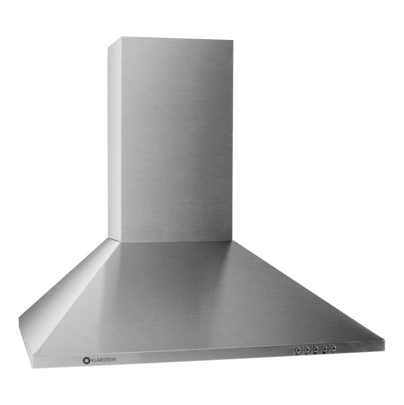 Klarstein TR60WS okap kuchenny 2 x filtery ze stali szlach. 60cm 340m/h