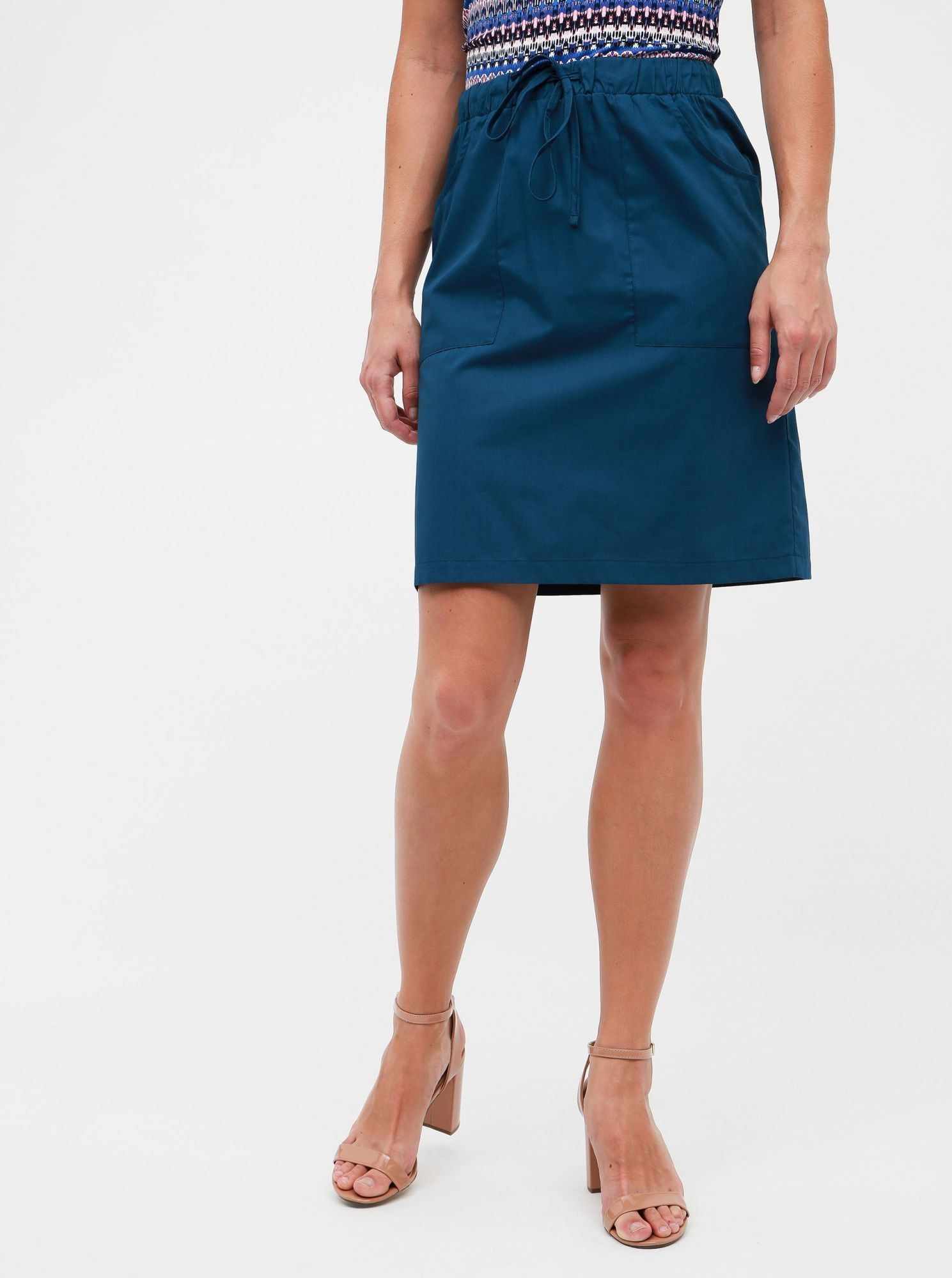 ZOOT oliwkowa spódnica damska Zoe