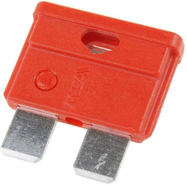 Bezpieczniki samochodowe płytkowe 10A - 10 sztuk