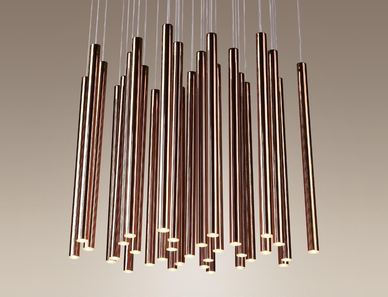 Lampa wisząca Organic P0174D Maxlight oprawa sufitowa z funkcją ściemniania światła