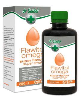 Dr Seidel Flawitol Omega Super Smak Poprawiający Smak Karmy 250 ml