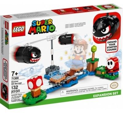 LEGO Super Mario 71366 Otrzał Banzai Bill zestaw rozszerzający
