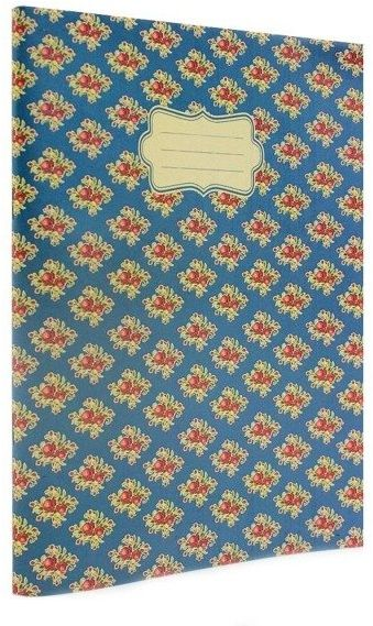 Vintage B Zeszyt A5/40K linia niebieski