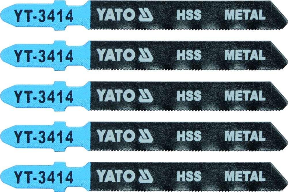 Brzeszczot do wyrzynarki typ t, 32 tpi, do metalu, 5 szt Yato YT-3414 - ZYSKAJ RABAT 30 ZŁ