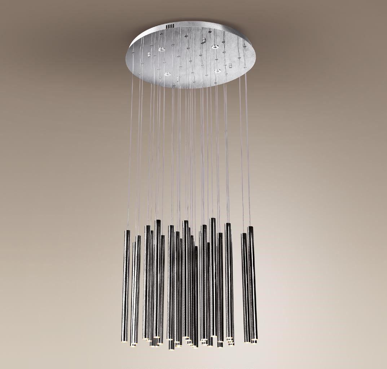 Lampa wisząca Organic P0175D Maxlight oprawa sufitowa z funkcją ściemniania światła