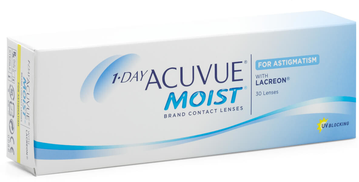 Acuvue Moist for Astigmatism, 30 szt.
