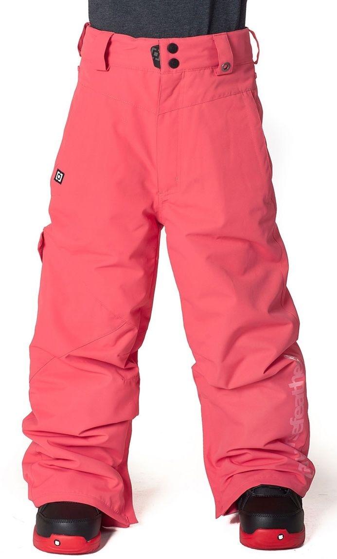 zimowe spodnie dziecięce HORSEFEATHERS BLAST KIDS PANTS (pink)