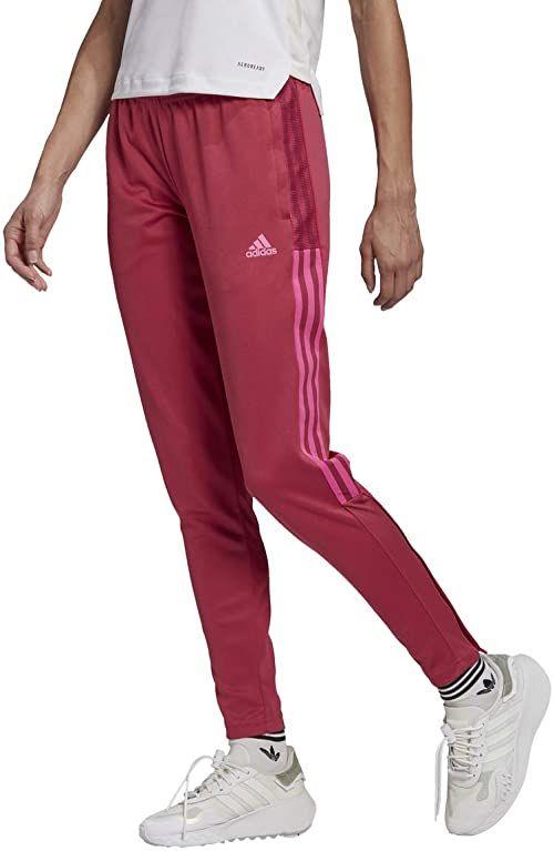 adidas Tiro 21 spodnie treningowe damskie liliowe