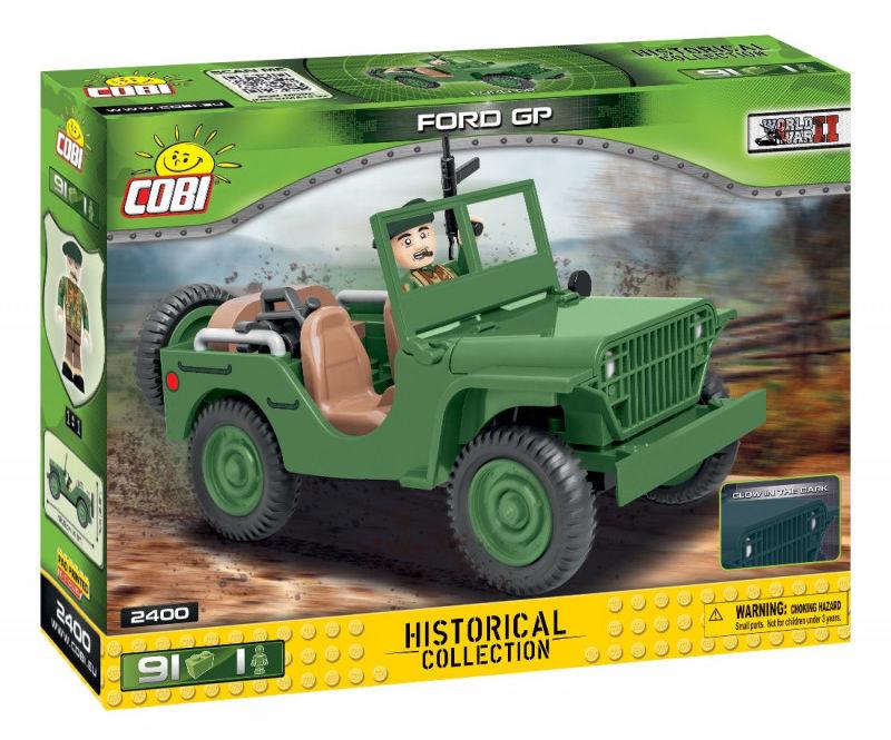 Klocki HC WWII FOrd GP 91 elementów
