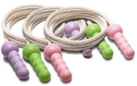 Green Toys JMP01R-A skakanka, zielona/fioletowa/różowa