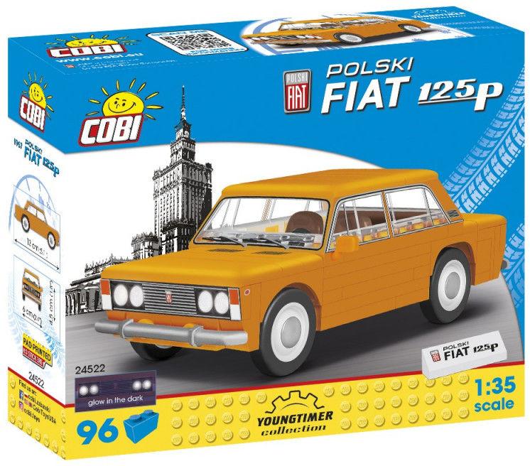 Klocki Youngtimer Polski Fiat 1 25P 96 elementów
