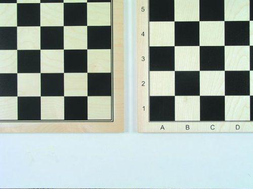 Gra na panieńskie 02096 - szachownica z drewna klonowego, 52 x 52 cm