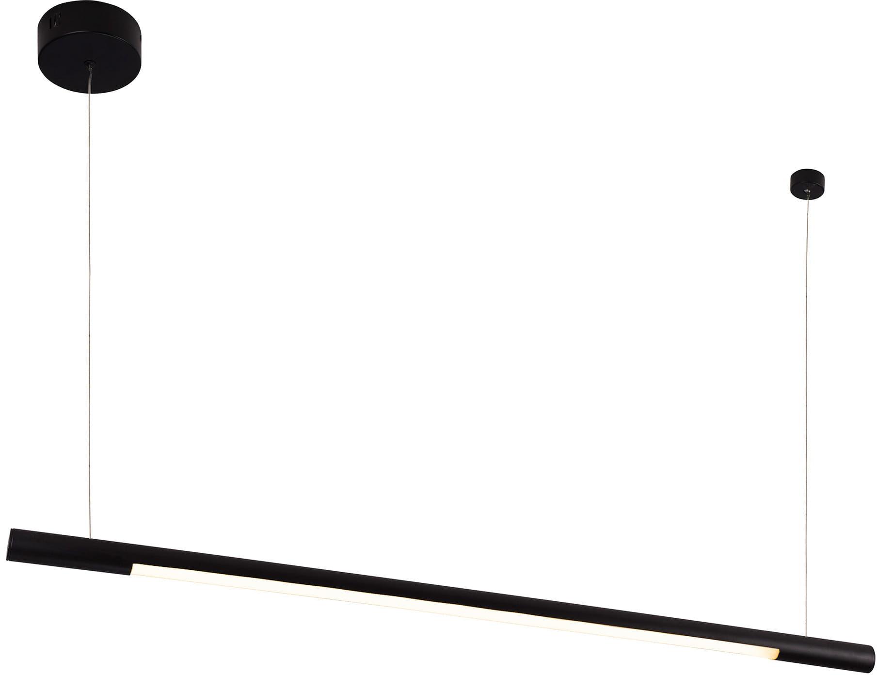 Lampa wisząca Organic Horizon P0354 Maxlight pojedyncza czarna oprawa sufitowa