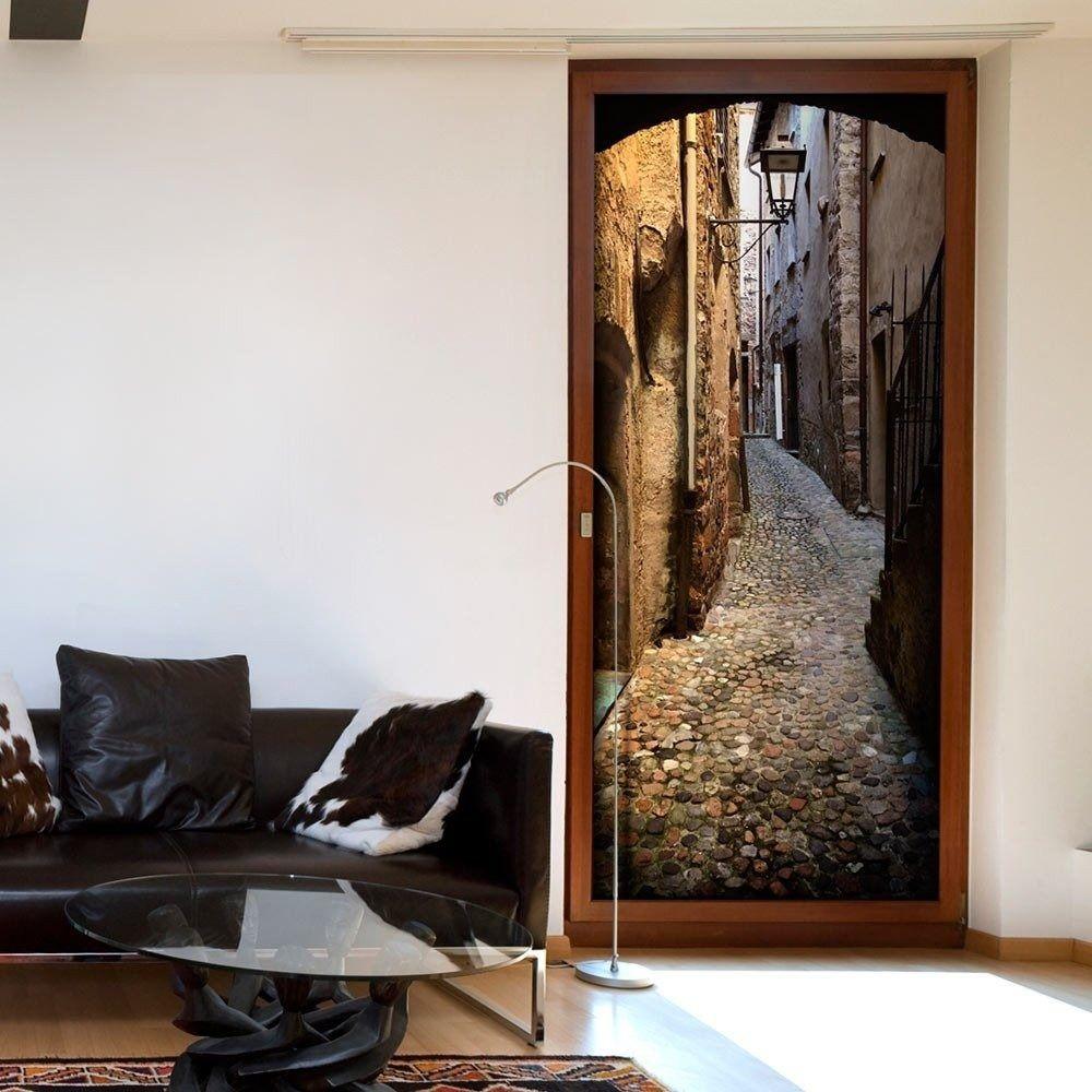 Fototapeta na drzwi - kamienne miasto