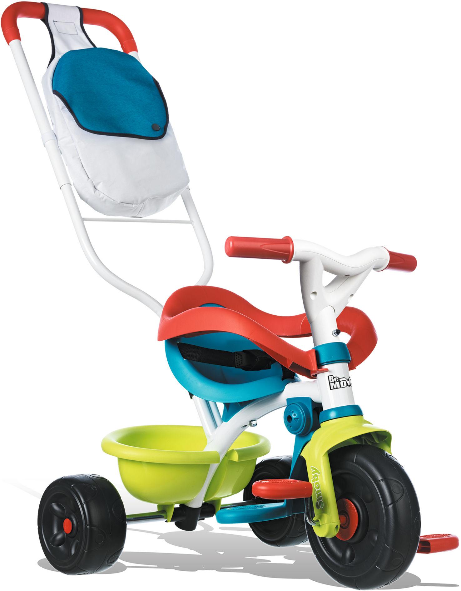 Rowerek trójkołowy SMOBY BE MOVE COMFORT POP