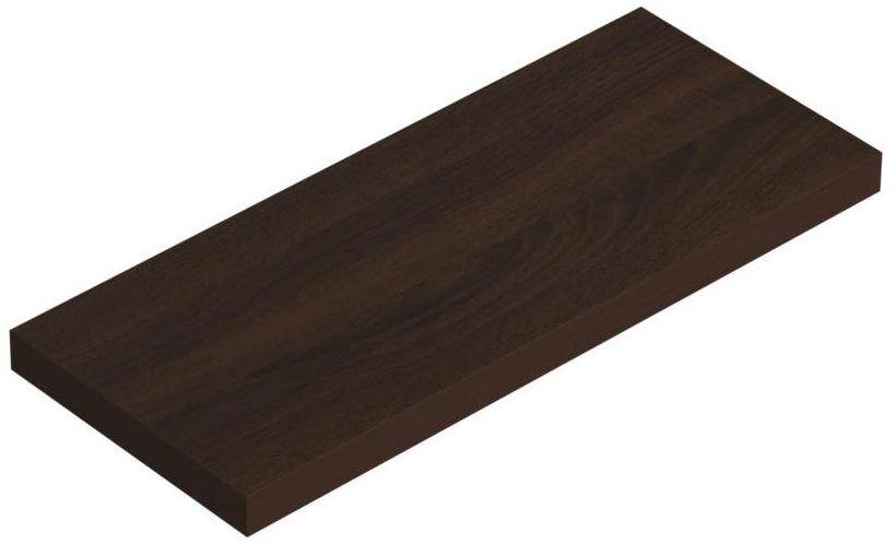 Półka ścienna KOMOROWA WENGE 59.5 x 23.5 cm VELANO