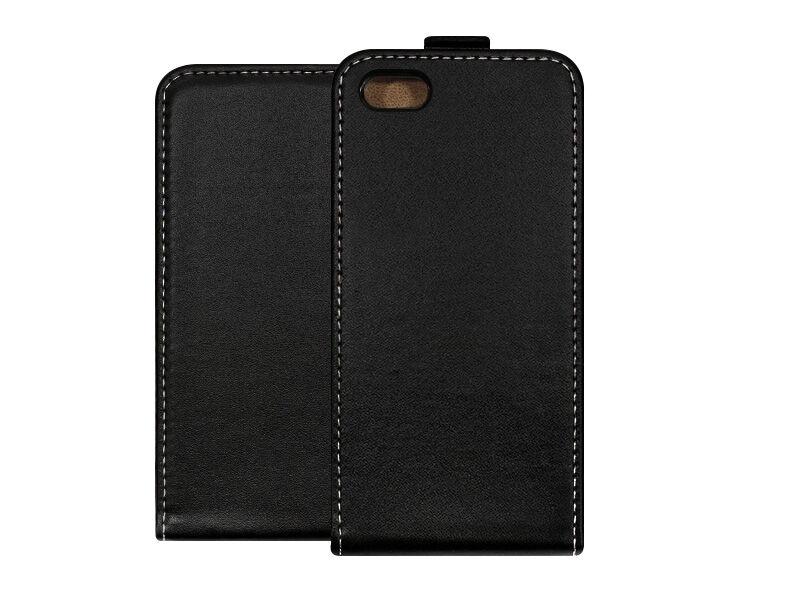 Apple iPhone 5S - etui na telefon Forcell Slim Flexi - czarny