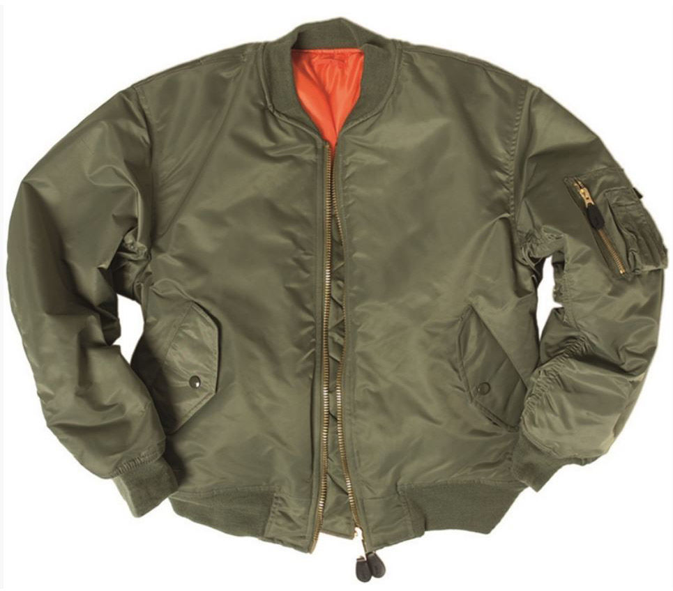 Kurtka Mil-Tec MA-1 Flyers Basic Olive (10402001)