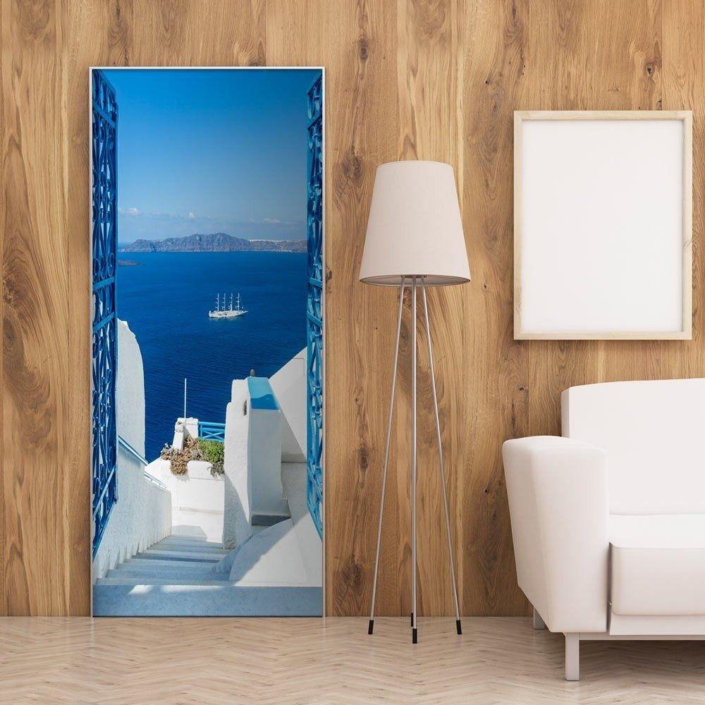 Fototapeta na drzwi - greckie wakacje