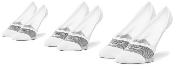 Asics Zestaw 3 par stopek unisex 3PPl Secret 3033A394 Biały