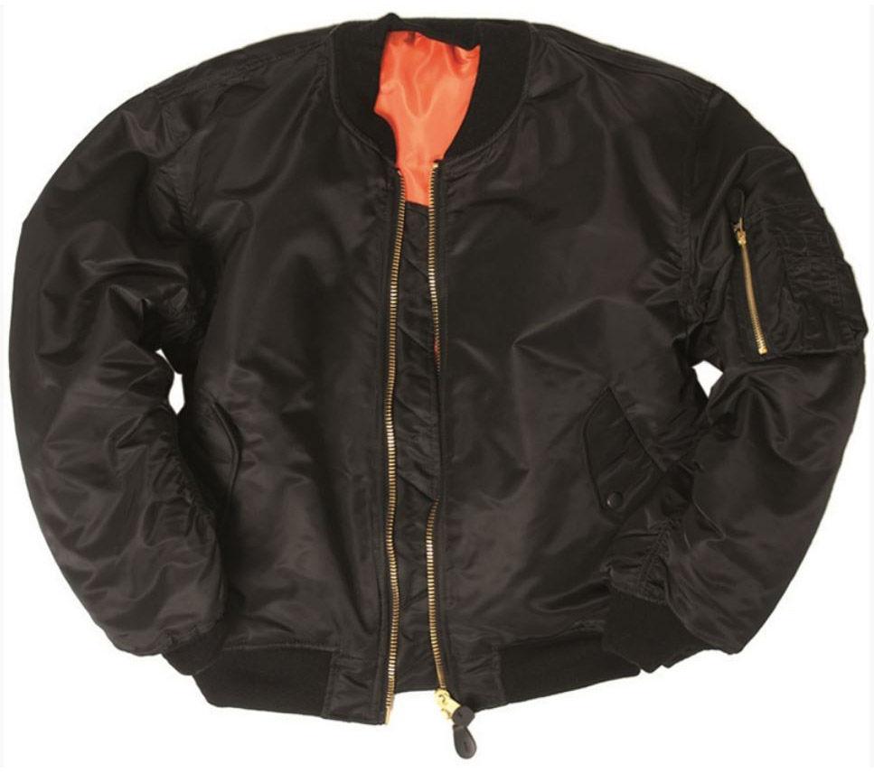 Kurtka Mil-Tec MA-1 Flyers Basic Black (10402002)