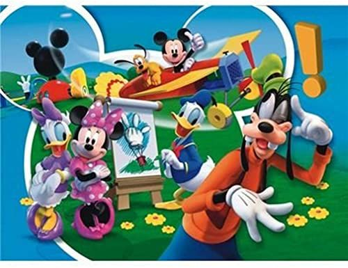 27680 - Clementoni Supercolor, puzzle 104 części - WD Mickey Mouse Club House: Good Job, 104 części