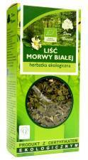 Herbatka LIŚĆ MORWY BIAŁEJ BIO 50 g Dary Natury