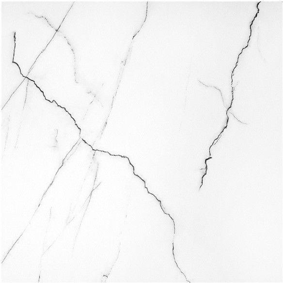 Gres polerowany Mavros Ceramstic 60 x 60 cm bianco 1,44 m2