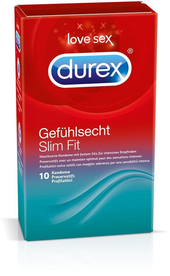Durex Slim Fit 10 pack