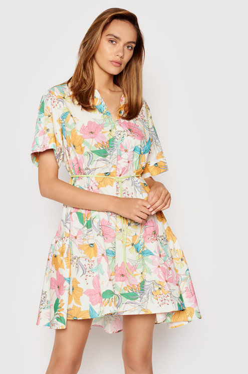 Imperial Sukienka letnia AAXTBSY Beżowy Relaxed Fit