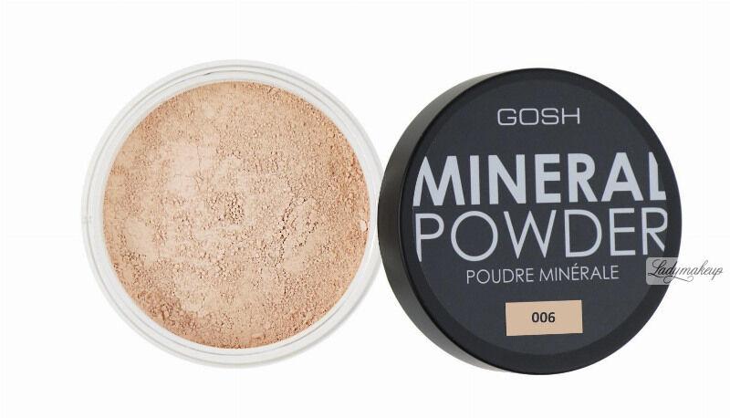 GOSH - MINERAL POWDER - Puder mineralny - sypki-006 - HONEY