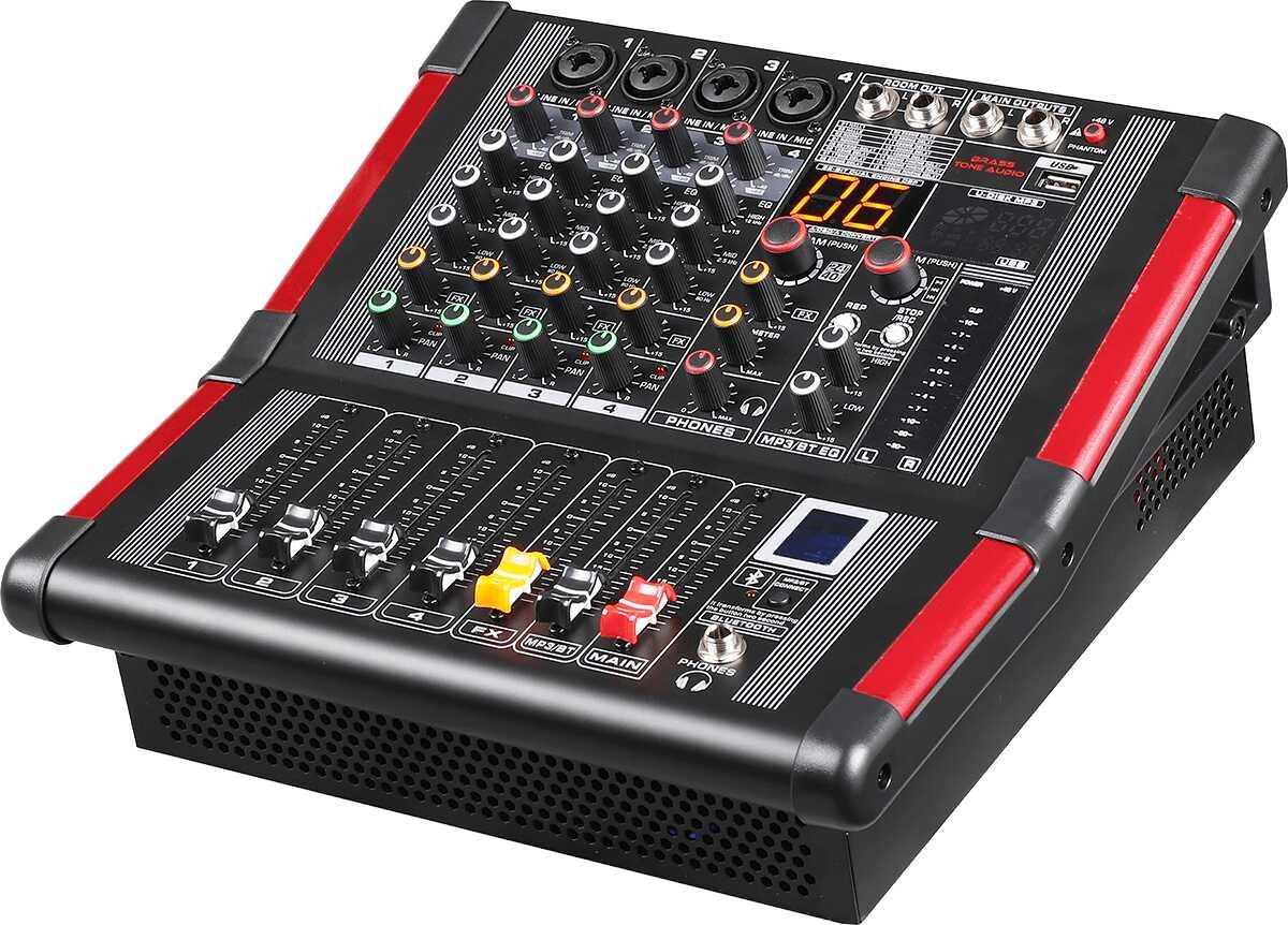 Mikser Brass Tone Audio 4K 2X170W BTA1104