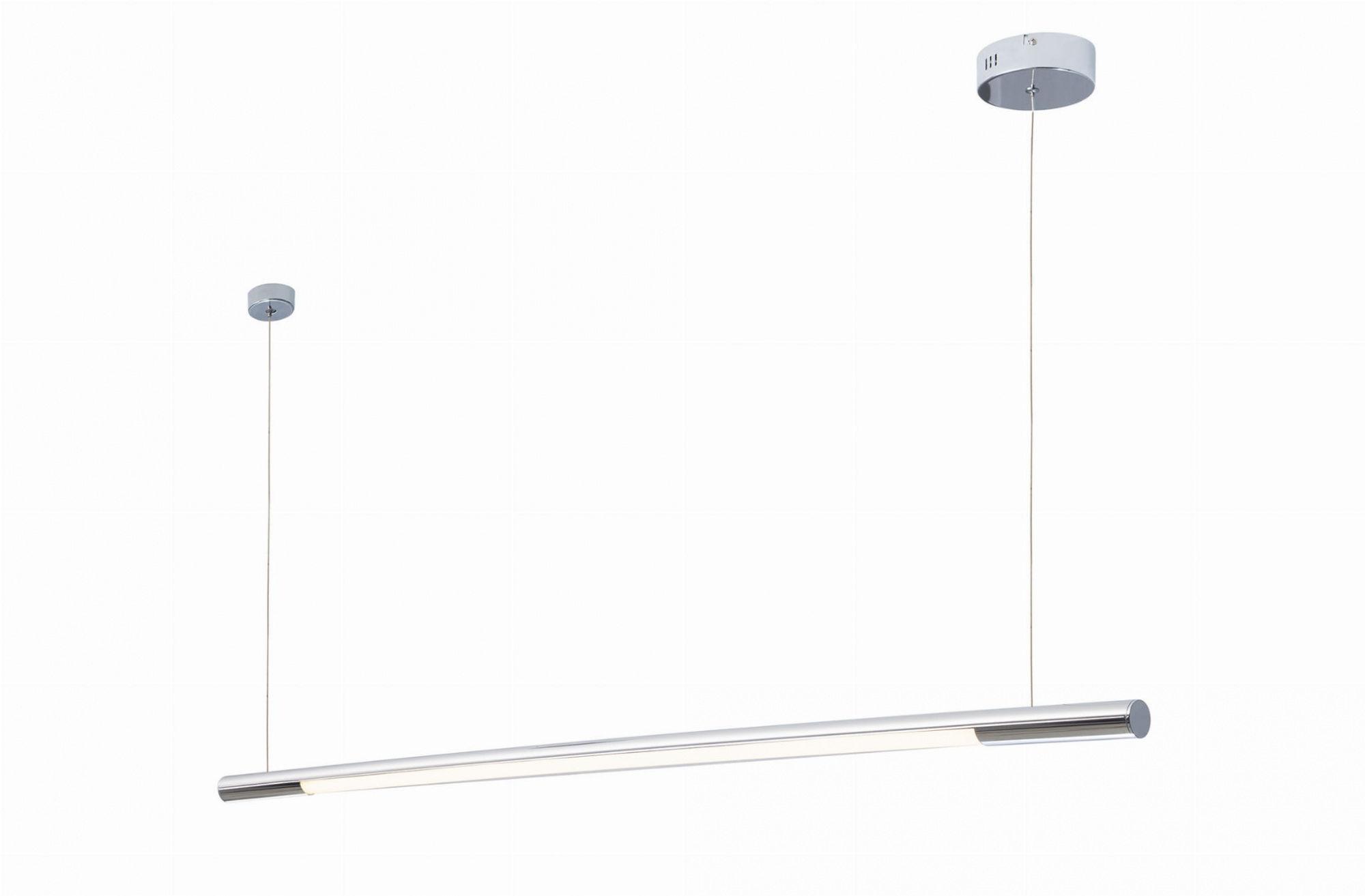 Lampa wisząca Organic Horizon P0359 Maxlight pojedyncza chromowa oprawa sufitowa