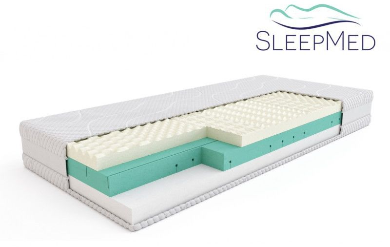 SLEEPMED PREMIUM - materac termoelastyczny, piankowy, Rozmiar - 80x200 WYPRZEDAŻ, WYSYŁKA GRATIS, 603-671-572