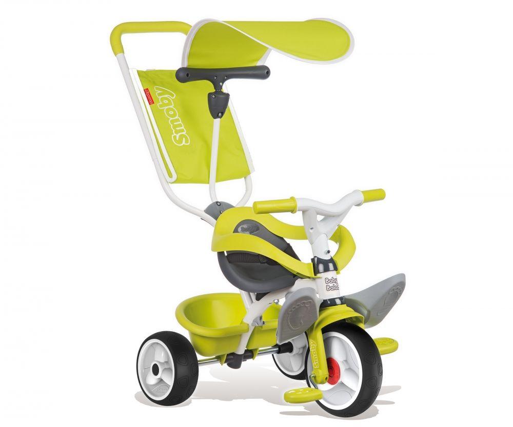 Rowerek trójkołowy SMOBY BABY BALADE /zielony/