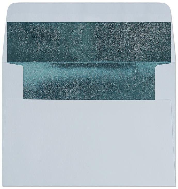 Koperta Gładki niebieski-metalizowany C6 10 sztuk w opakowaniu Argo 280224 Rabaty Porady Hurt